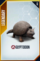 Glyptodon Card