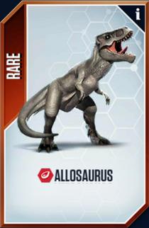 Allosaurus Card