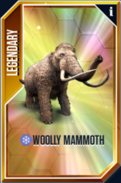 Woolly Mammoth Card