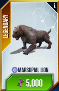 MarsupialLion Card