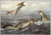 26 prean burian pteranodon tylosaurus