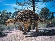 Ecran ankylosaurus
