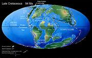 Weltkarte 97 Millionen