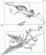 Geosternbergia snatches a pilot on storyboard