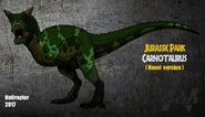 http://ru.jurassicpark.wikia.com/wiki/Файл:Jp_the_lost_world_novel_carnotaurus_new_art_by_hellraptor-d9uh3zx