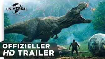 Jurassic World Das gefallene Königreich - Trailer deutsch german HD