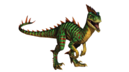 Jurassic world the game hybrid velociraptor by sonichedgehog2-d9y7jah