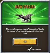 Baryonyx Trivia 1