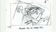 Geosternbergia fixes onto pilot on storyboard