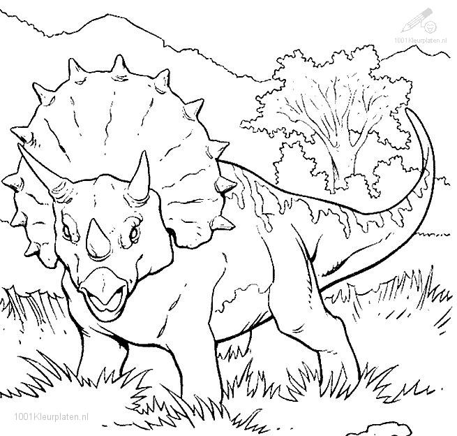 Jurassic Park Coloring Page 2