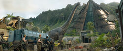 Fallen kingdom brachiosaurus by sonichedgehog2-dbw74ev