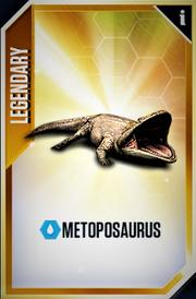 Metoposaurus Card