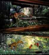 Raptor vs dilophosaurus
