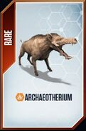 Archaeotherium card