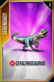 Cerazinosaurus New Card