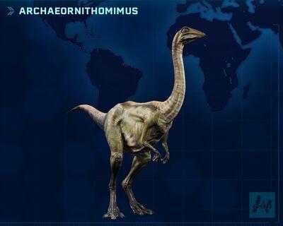 JWE Archaeornithomimus