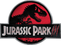 Jurassic Park III - Red T. rex logo