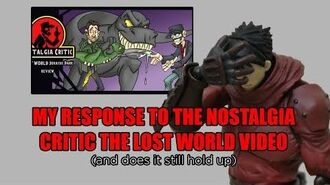 My Response to the Nostalgia Critic The Lost World Video (and does it still hold up)