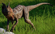Dilophosaurus jwe