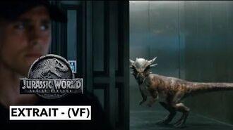 Jurassic World - Fallen Kingdom - extrait - Stiggy interrompt les enchères! - (VF)