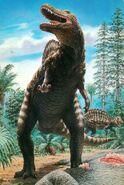 Spinosaurus dinosaurios-spinosaurus-lamina-45x30-cm-D NQ NP 409511-MLU20580883489 022016-F