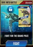 Archelon Dive into Battle Tournament