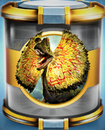 Dilophosaurus Gold Incubator