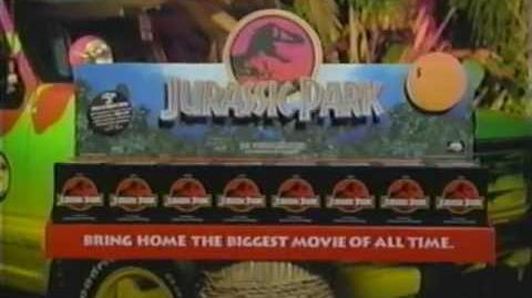 Jurassic Park VHS Promo Video