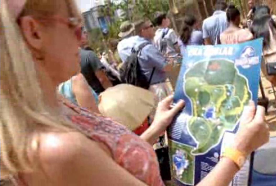 Jurassic World map Jurassic World map