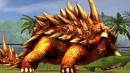 Ankylosaur roar
