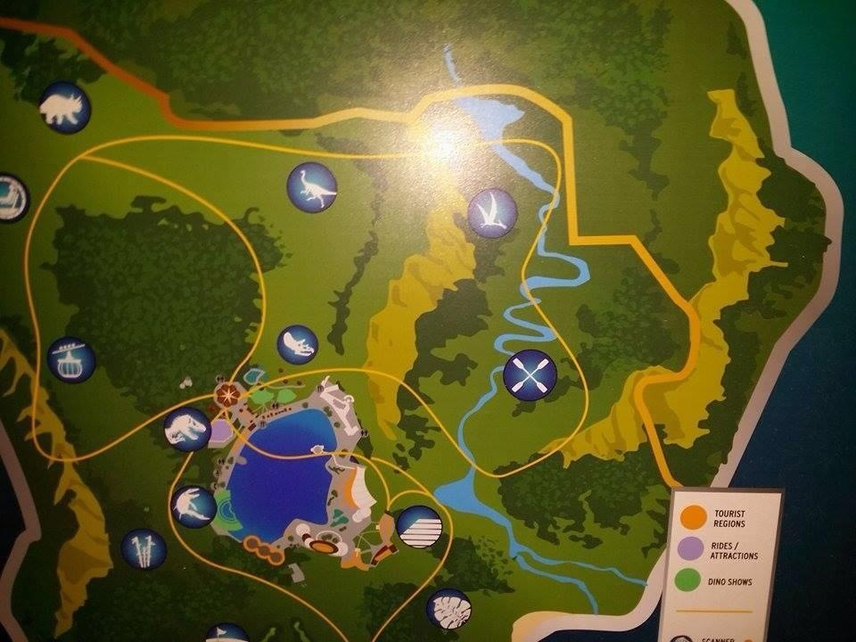 Jurassic World map eastjpg Image Jurassic
