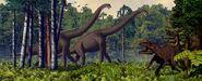 Brachiosaurus allosaurus 680