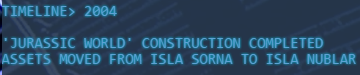 Construction de Jurassic World terminée