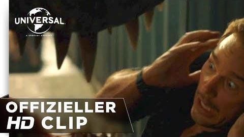 """Jurassic World Das Gefallene Königreich - Clip """"Claire hilft Owen zu flüchten"""" deutsch german HD"""