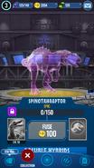 Spinotahraptor Hologram JWA