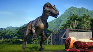JWE DLC dinosaur Allosaurus noui
