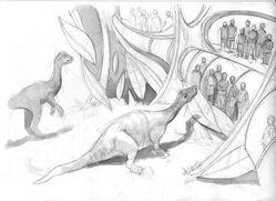 Jim Martin - Jurassic World Unused Attraction