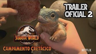 Jurassic World Camp Cretaceous Campamento Cretacico Trailer Oficial 2 Español Latino Netflix-0