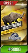 Brontotherium Pack