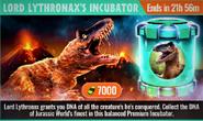 Lord Lythronax's Incubator Offer