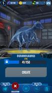 Ouranosaurus Hologram JWA