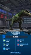 Tarbosaurus JWA