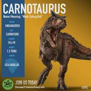 Nublar Carnotaurus