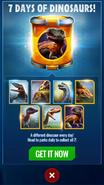 Spinotahraptor 7 days