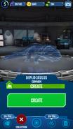Diplocaulus Hologram JWA