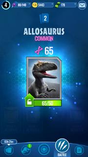 Allosaurus Unlock