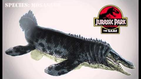 Jurassic Park Tylosaurus