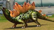 Jurassic Park Builder Stegosaurus in the battle arena (FINAL EVOLUTION)