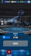 Delta Hologram JWA