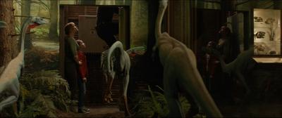 Ornithomimid Diorama3